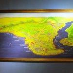 コンスタンティノープル攻略戦の地図