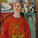 Henri Matisse: La fille aux yeux verts. Legion of Honor Art Museum just off the Coastal Trail.