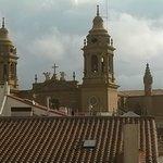 Vista desde habitación de la Catedral de Pamplona.
