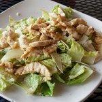 Chicken Caesar salad minus croutons