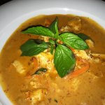 Peanut Curry, heard pepper heat can vary pepper to pepper, mild is delicious- but increased heat