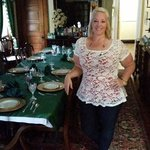 me in the dining room where we meet for breakfast