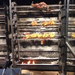 Wood fired rotisserie. A chickens best friend . So fresh.