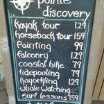 Optional tours & adventures