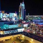 Lights of Las Vegas strip