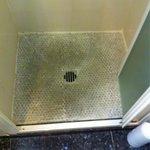 Piatto doccia della camera 209
