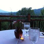 dining at the lodge