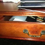 Dining and Hotel Guide in Drawer