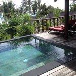 Terrasse mit Plunge Pool
