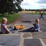 Making friends in Ballymaloe!