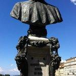 Cellini's Bust in daylight
