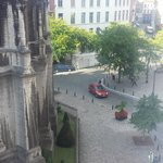 View from room (old church Saint Catherine - no longer in use)
