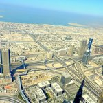 View from the Top of Burj Khalifa