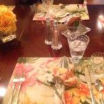 Gorgeous breakfast table