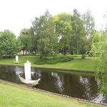 laghetto interno al parco