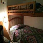 Bunk beds, Room #14.