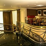 Lounge and Bar staircase