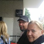 Entrada do Museu Van Gogh em Amsterdan