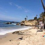 West side of beach laguna