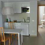 Kitchen area of appartment