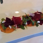 Mirabelle Restaurant- Colorful Beet Salad