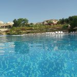 SWIMMING POOL IN THE MORNING