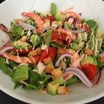 Salade de crevette et avocat (midi)