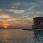 Sunset on Dry Tortugas