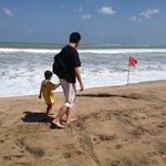 Handsome dad & his son