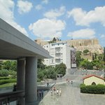 the view of Acropolis
