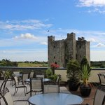 Trim Castle from hotel terrace