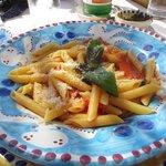 pasta, was delicious!
