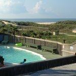 Pool with view of gulf