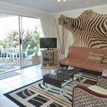 Zebra Apartment with private patio
