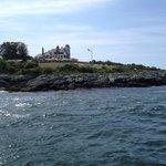 Castle Hill from Newport Harbor aboard a Gansett Cruise