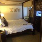 Courtyard Suite bedroom.