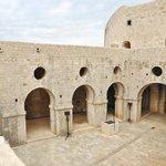 courtyard in Fort Lovrijenac