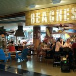 Beaches at Portland Airport