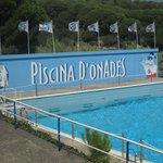 maxi piscina con onde