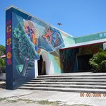 Just one Mural in Isla Mujeres Downtown