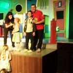 Josh on stage with Tamworth