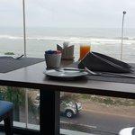 breakfast ocean view