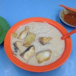 Very nice fish meat without bones noodle ! XO for additional 2 dollar ! Try the prawn paste chic