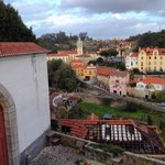 View of the town from National Palace of Sintra