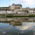 Amboise Chateau on Loire River