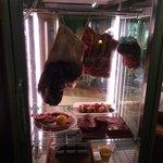 свежее мясо в ресторане
