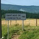 Distancia desde Roncesvalles a Santiago de Compostela