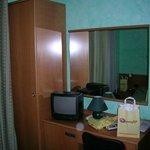 Habitación sencilla con minibar