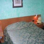 La cama cómoda y la ubicación interna de la habitación era silenciosa