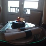 My surprise birthday cake from hotel